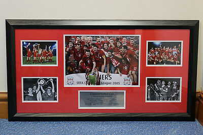 Liverpool FC Football Club story board Memorabilia Picture / Poster / Frame /