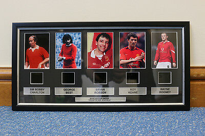 Manchester United Football Club Legends memorabilia print / frame / poster