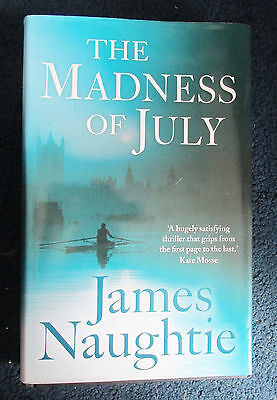 The Madness of July hard back book
