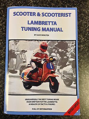 Lambretta Tuning Manual By Dave Webster Revised Layout
