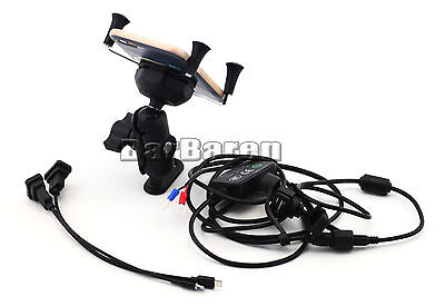 Navigation Bracket With USB Charge Port For Yamaha YZF-R3 YZF-R25 2014-2016