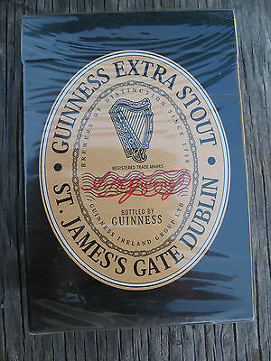 Guinness Extra Stout Poster Deck Playing Cards Classic Images New Dublin Ireland