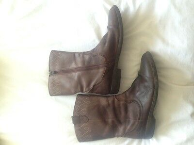 Girls Clarks Boots Size5f