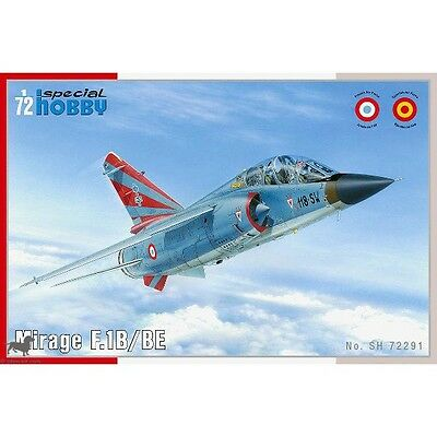Maquette 1/72 - Mirage F.1B / BE - Special Hobby