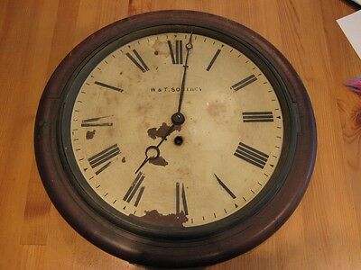Victorian Fusee Wall Clock for restoration