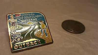 MDA Golf Classic Outback collectible pins pinback lapel metal