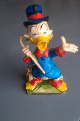 Uncle Scrooge Mc Duck Figure from Italy Disney McDuck