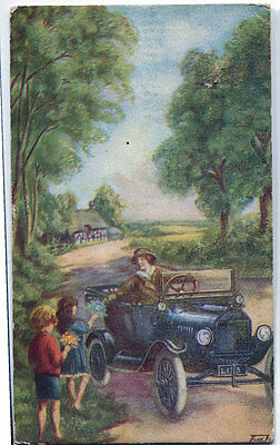FORD The Universal Car - Vintage Postcard, 1919