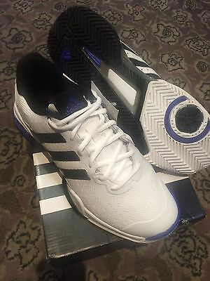 Men's Adidas Barricade Team 4 Tennis Shoes Brand New uk 12