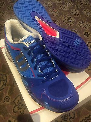 Men's Wilson Rush Pro 2.0 Tennis Shoe Brand New uk 9