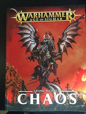 Warhammer Age Of Sigmar Chaos Grand Alliance Book