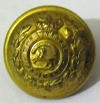 Victorian vintage The Liverpool Regiment army military button