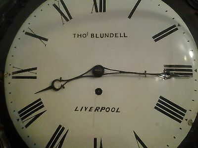 "12 "" convex dial drum cased fusee Thomas blundell liverpool"