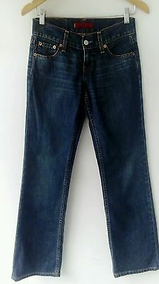 LEVI'S 'Eve' Vaquero Recto Mujer t./size (ES-36) W26 L32 Woman Straight Jeans
