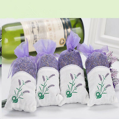 Bag of Dried Lavender Buds Flower Sachets Deodorant Air Fresher Scent Fragrance