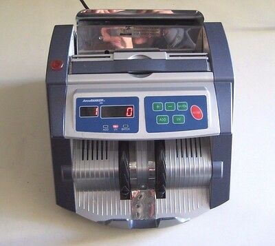 Accubanker Ab1100 Uv Digital Money Bill Counter With Counterfeit Detection