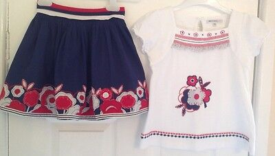 Marks And Spencer Autograph Girls Summer Outfit Age 4-6 Years