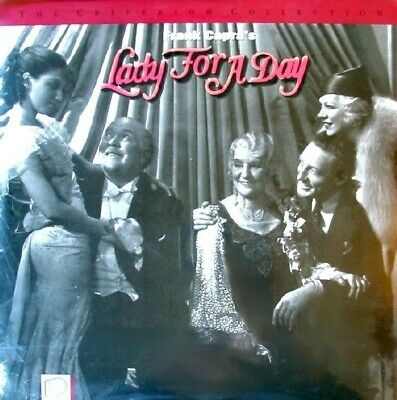 LADY FOR A DAY CRITERION NTSC LASERDISC Frank Capra / Warren William, May Robson