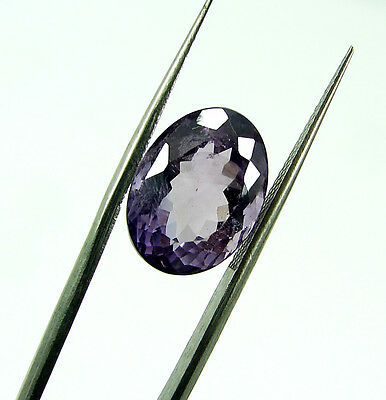 7.10 Ct Natural Oval Loose Purple Amethyst Gemstone Beautiful Stone - 7766