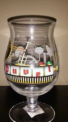 New Duvel Belgian Beer Glass Artist Collection Jono Guilded Age of Beer