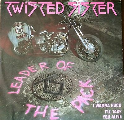 """Twisted Sister - Leader of the Pack, Vinyl 12"""" Single"""