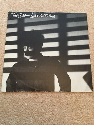"The Cure Lets Go To Bed 12"" Vinyl"