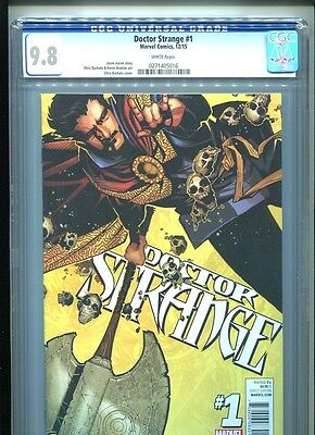 Doctor Strange #1 (2015) CGC 9.8 WHITE pages (1st print) Aaron Bachalo
