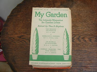 MY GARDEN MONTHLY MAGAZINE EDITED BY THEO A STEPHENS JANUARY  1949 No 181
