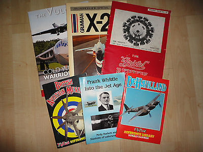 Collection Of 6 Aircraft Magazines Etc
