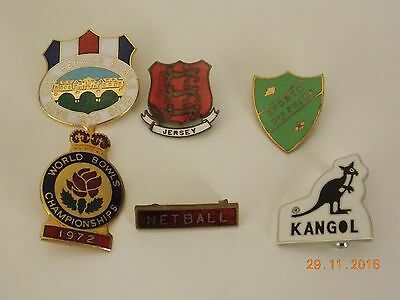 Job Lot of Enamel Advertising Pin Badges
