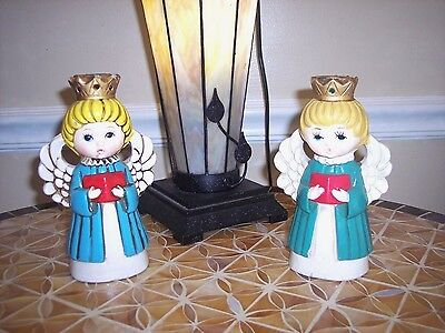 Vintage Paper machea Christmas angels