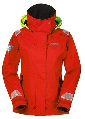 BNWT Musto BR1 red Channel Jacket SB1294 medium M - RRP £199 - NEW