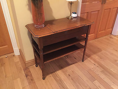Vintage bureau antique writing desk Hall table Occasional table
