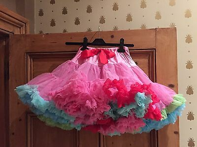 Angel's Face Tutu Multicolour Brights Age 10-12 Years
