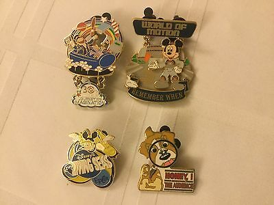 WDW EPCOT - Attraction Pins