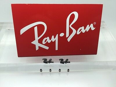 Authentic Rayban RB 8301, 8302, & 8316 Replacement Icons & Screws for temples