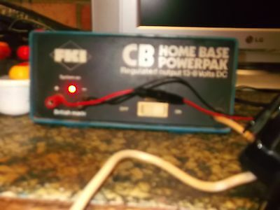 3 Amp 13.8V DC Power Supply / PSU / Power-Pack for CB Radio - Tested & Working