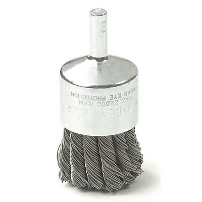 """1"""" Knot Type Wire End Brush KDT2312 Brand New!"""