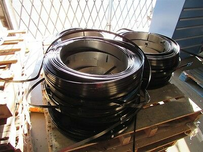 """Lot of 12 New Coils of 3/4"""" Steel Metal Banding Strapping"""