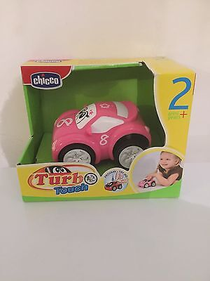 CHICCO Turbo Touch Interactive Children  Pink Toy Car Sound Effects 2 Years+ New