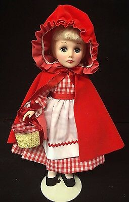 effanbee storybook dolls - Little red Riding Hood