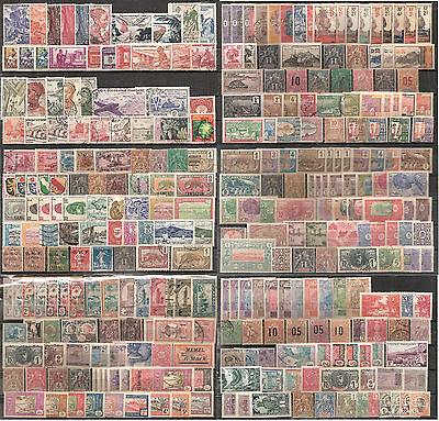 Timbres France colonies - Gros lot différentes colonies