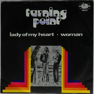 """7"""" Turning Point - Lady Of My Heart / Woman  - 1973 Austropop - EXCELLENT!"""