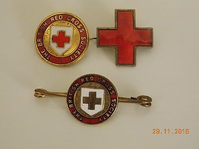 Job Lot of The British Red Cross Society Pin Badges