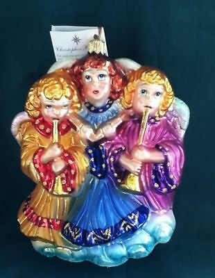 Christopher Radko Ornament - Hark The Herald Angels Sing