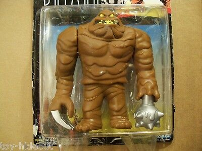 Clayface, Batman Animated Series 1993 Kenner, Complete on Opened Card