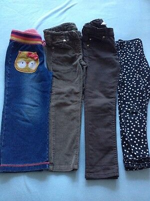 Girls Trousers And Leggings 3-4 Years Old United Colours Of Benetton,H&M,George