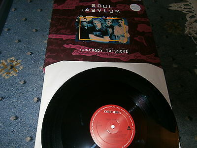 Soul Asylum-Somebody To Shove-Poster Bag Sleeve-Columbia Label