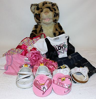 Leopard BUILD A BEAR and selection clothes and shoes
