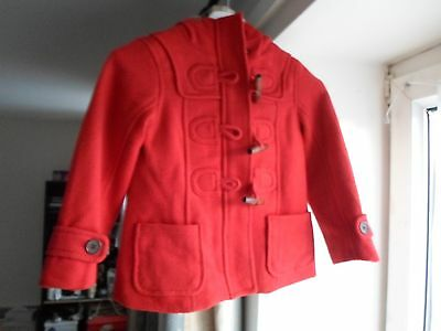 Gap Girls Duffle Coat - Bnwot - Size 4-5 Years - Auction!!!
